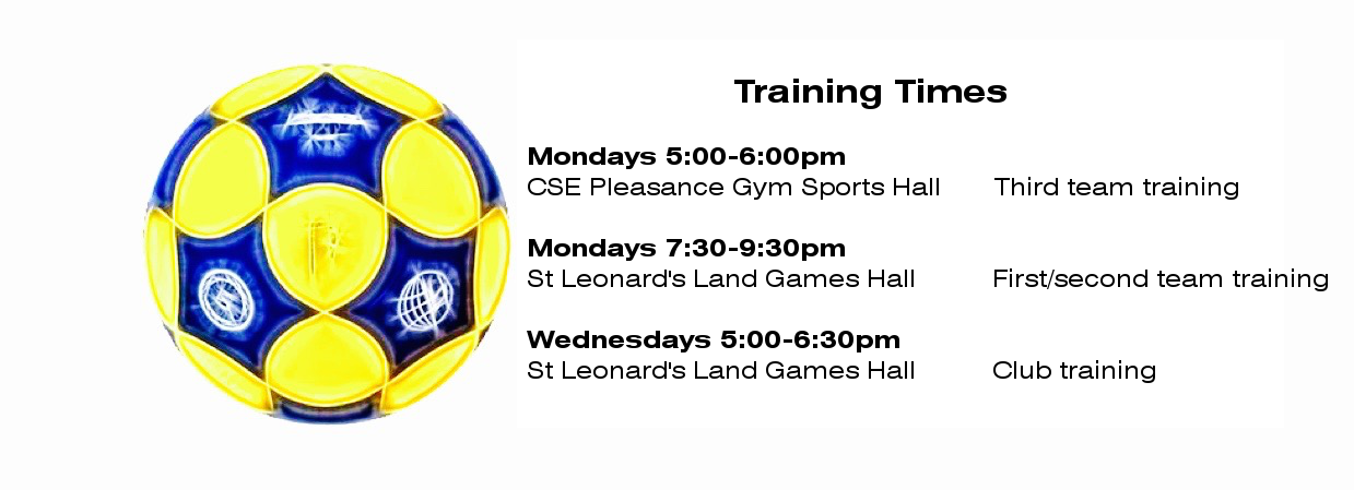 Training times picture